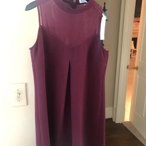 Beautiful wine colored cocktail dress